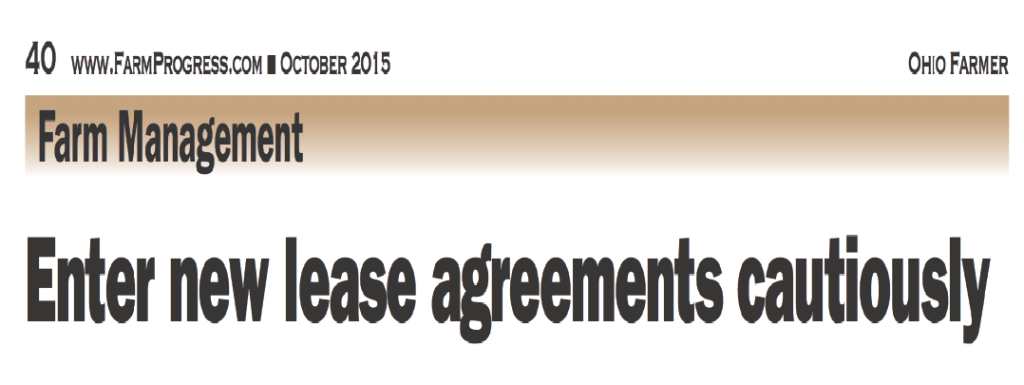 Enter New Lease Agreements Cautiously Wright Moore Law